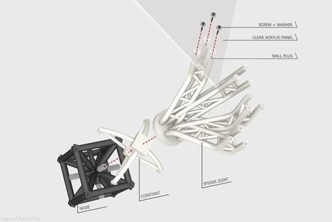 Computational Design Student Creates 3D Printed Spider Joints   Architecture, design & algorithms   Scoop.it