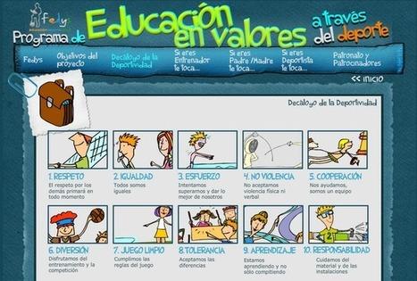 Educación Física en Valores   Temas de Interes   Scoop.it