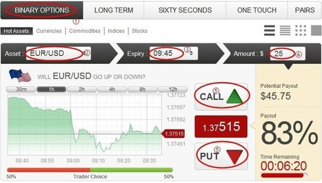 How to Trade Binary Options--FAQ | fx77 | Scoop.it