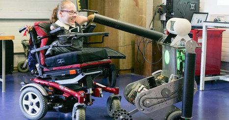Robbie : un robot intelligent qui transforme complètement la vie d'une jeune femme handicapée | La technologie au service de la santé et du handicap | Scoop.it