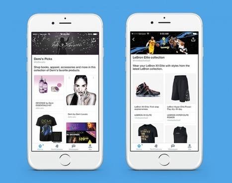 Twitter teste officiellement l'e-commerce via des pages spéciales - #Arobasenet.com | Clic France | Scoop.it