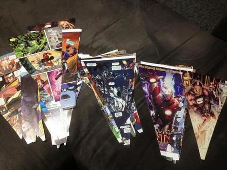 Twitter / LukeABarnett: Holiday craft project complete! ... | Graphic novels in the classroom | Scoop.it