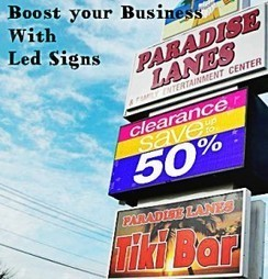How to Boost Seasonal Business   Led Signs   Scoop.it