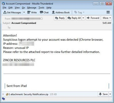 #DRIDEX Poses as Fake Certificate in Latest #Spam Run - TrendLabs #Security #tech #ICT | Limitless learning Universe | Scoop.it