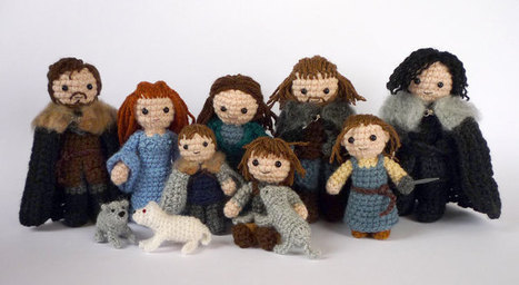 Game of Thrones Crafts: Amigurumi Starks & Lannisters | Geeky Creations | Scoop.it