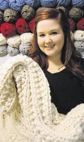 International exposure for Traverse City knitter's work - Traverse City Record Eagle | Traverse City Businesses | Scoop.it