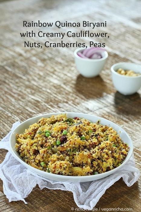Vegan Richa: Quinoa Cauliflower Biryani. Vegan Glutenfree Recipe   My Vegan recipes   Scoop.it