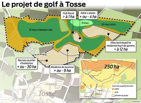 Projets de golf et de vague artificielle dans le sud des Landes : deux ... - Sud Ouest | actualité golf - golf des vigiers | Scoop.it