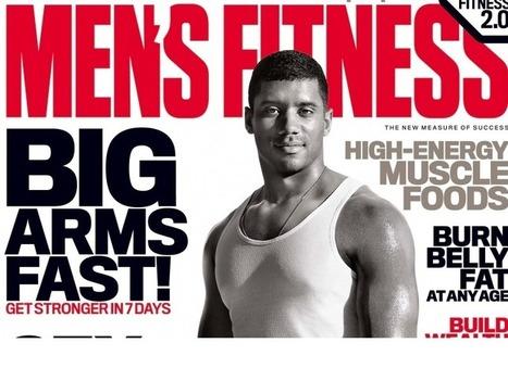Wilson Graces 'Men's Fitness' Cover - Bleacher Report   Seahawks   Scoop.it