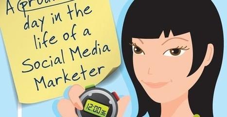 Descubre un día productivo en Social Media Marketing (infografía) | Presencia Social y Mundo 2.0 | Scoop.it