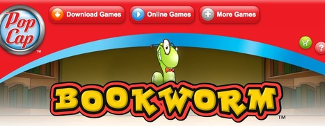 Bookworm™ Official Site - PopCap Games - Free Online Games | spelling | Scoop.it