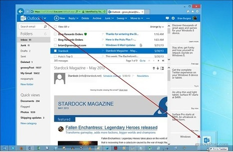 How To Pin Outlook.com to the Windows Taskbar | Time to Learn | Scoop.it