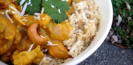 PaleOMG – Paleo Recipes – Pumpkin Cashew Coconut Curry over Coconut Rice | Bouger, manger pour votre santė | Scoop.it