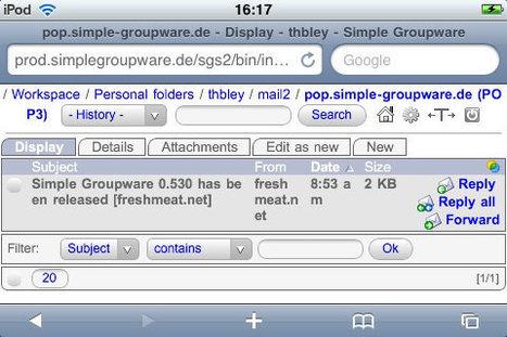 Simple Groupware, Open Source Groupware and CMS   Binterest   Scoop.it