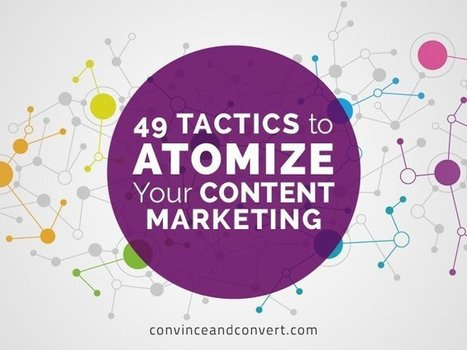 49 Tactics to Atomize Your Content Marketing | Retail, Digital Signage, Proximity Marketing, Social Media, Comunicazione, Multimedia, Iot, 3D, Makers, Wearable Technology... | Scoop.it