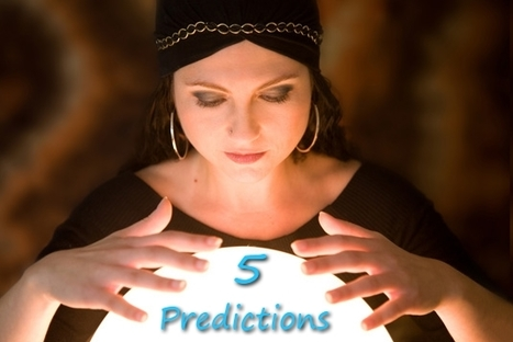 Five Predictions for Social Media in 2013 | SocialMedia Source | Scoop.it