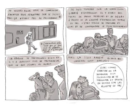[BD REPORTAGE] Mais que se passe t-il à Nuit Debout, Mister Jones ?  - LaTeleLibre.fr | BD-Journalisme | Scoop.it