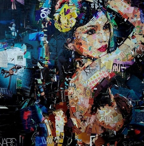 Collage Artist Masterfully Controls Chaos - My Modern Metropolis   Pop Culture Ninja   Scoop.it