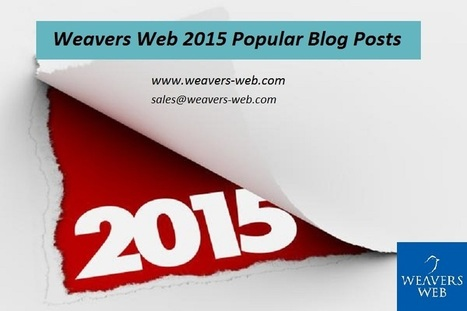 Look Back in Our Popular Posts of 2015 | Web Design, Development and Digital Marketing | Scoop.it