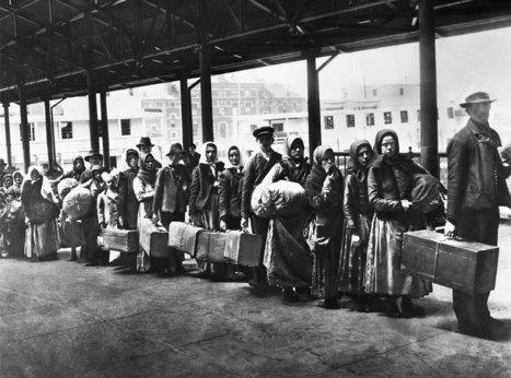 Le documentaire « Ellis Island, une histoire du rêve américain » - Cinéhig   Avoir sur ARTE les 11,13 et 29 mars 2014   Nos Racines   Scoop.it