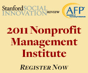 Partnering for Impact: The Pro's of the 2011 Nonprofit Management Institute | Today in Volunteering | Scoop.it
