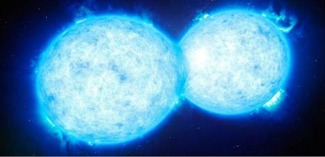 Le baiser mortel de 2 étoiles - Sciences et Avenir | Espace | Scoop.it