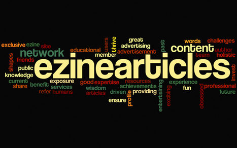 Article Writing Tips For EzineArticles – The Secrets Not Told   Readings and literature   Scoop.it