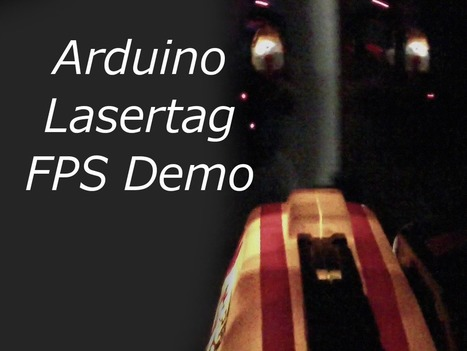 Lasertag powered by Arduino - Yomama Gaming   Raspberry Pi   Scoop.it