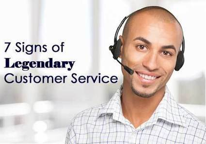 7 Signs of Legendary Customer Service | Guest Service | Scoop.it