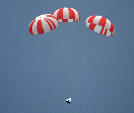 Video: Successful Test For SpaceX Crew Capsule Emergency Abort | Money | Scoop.it
