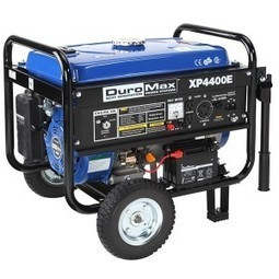 Review DuroMax XP4400E Gas Powered Portable Generator With Wheel Kit   The Arts Of Healthy Care   Scoop.it