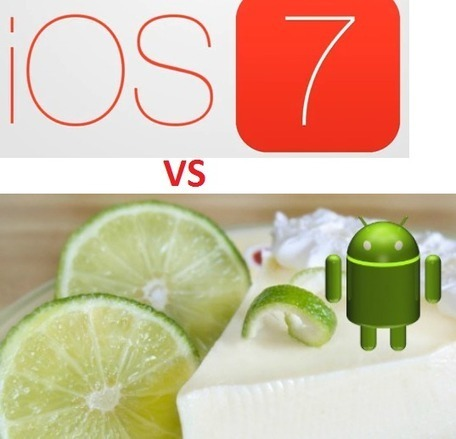 OS Features- Apple iOS 7 vs Android 5.0 Key Lime Pie - | iPhone 5S Release Date | Scoop.it