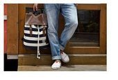 striped canvas campus backpack | personalized canvas messenger bags and backpack | Scoop.it