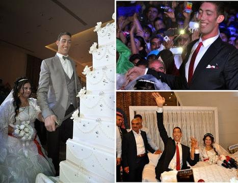 World's tallest man gets married  in Turkey | TheAPNews | Scoop.it
