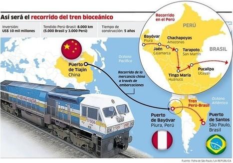 El riesgo ambiental del Tren Interoceánico entre Perú y Brasil | Un poco del mundo para Colombia | Scoop.it