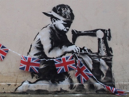 Banksy's London Olympics | The Guardian / The Atlantic Wire | EFL-ESL &  ELT | Learning, Teaching, Education | Scoop.it
