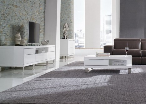Explore the Advantages of Gloss White Coffee Tables   Furniture Stores Victoria   Scoop.it