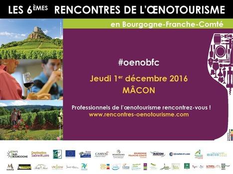 Rencontres de l'Œnotourisme en Bourgogne Franche-Comté - teranima   Oenotourisme et idées rafraichissantes   Scoop.it