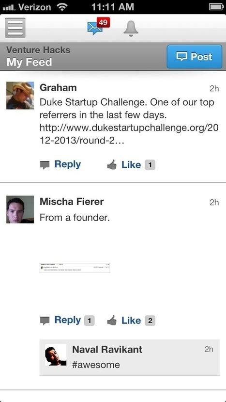 No email at AngelList - Venture Hacks | Myself and Entrepreneurship&Inspiration | Scoop.it