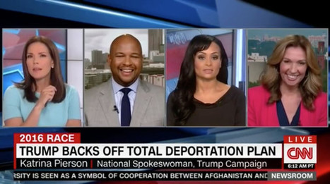Trump Spokeswoman: He's Not Changing Immigration Position—Just The Words (VIDEO) | enjoy yourself | Scoop.it