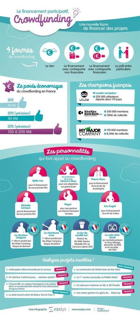infographies   Crowdfunding - financement participatif   Scoop.it