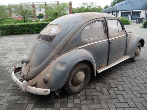 For sale; 1955 early oval fresh arrived from the Barn! | VW Cox Aircooled | Scoop.it
