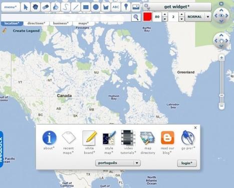 scribblemaps – Una forma sencilla y completa de dibujar sobre un mapa y compartirlo | Educando nas TIC | Scoop.it