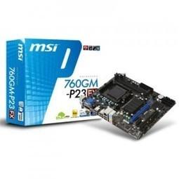 MSI Placa Base 760GM-P23 (FX) mATX AM3 - Cibertienda GrupoUnetcom   Ingeniero en sistemas computacionales   Scoop.it
