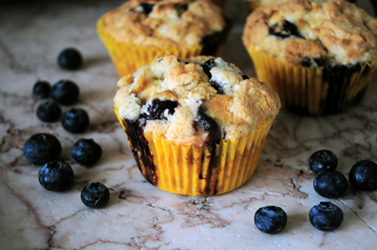 Lemon Blueberry Muffins   Food, Health, Recipes and Tips   Scoop.it