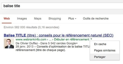 Google modifie encore l'interface des pages de résultats (SERP) | Furet SEO | Scoop.it