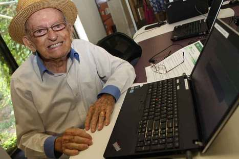 Student embraces new technology courses at 95 years young ... | Learning & Teaching | Scoop.it