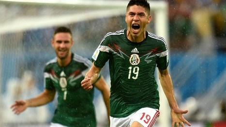 Peralta downs Cameroon, gets Mexico rolling | FIFA World Cup Brazil 2014 | Scoop.it