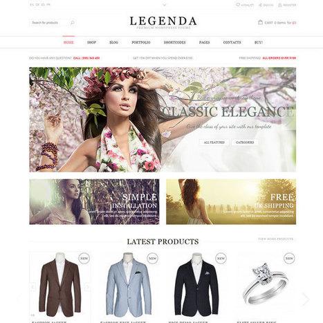 Legenda WordPress Theme | WordPress Theme Download | Best WordPress Themes 2013 | Scoop.it