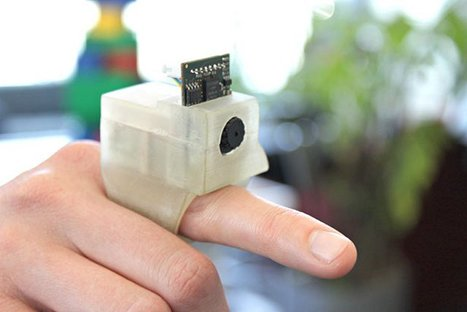 EyeRing voice-activated augmented reality device for the blind | SEN Tech Resources | Scoop.it